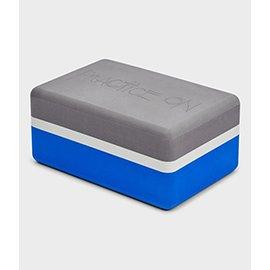Manduka 瑜珈用品~Recycled Foam Block 系列瑜珈磚  雙色 ~瑜