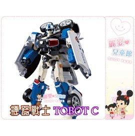 麗嬰兒童玩具館~東森YOYO台卡通-韓國TOBOT機器戰士-大型警車C