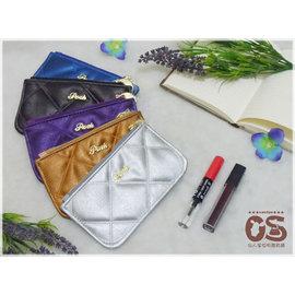 泰國 Posh BAG Posh包 零錢包 化妝包 手機包 泰國 師品牌 伴手 菱格絨布貴