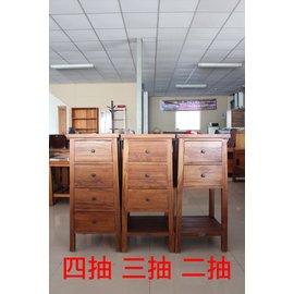 ~石川柚木~WF~156 柚木二抽櫃 收納櫃 電話架 花架 ^(單個^)^(右^)