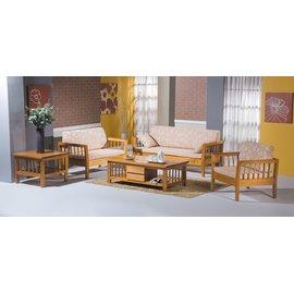 ~新 ~EF~185~2 118型原木色單人椅 ^(含椅墊 不含 ^) 需 車趟