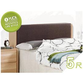 ~YUDA~文森 橡木紋 透氣乳膠 5尺 雙人 床頭箱 床頭櫃J6F 037~3