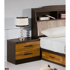 ~台北家福~ FP147~3 賽德克積層木雙色床頭櫃傢俱