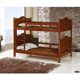 【台北家福】 FP201-2 彩繪3.5尺柚木雙層床傢俱