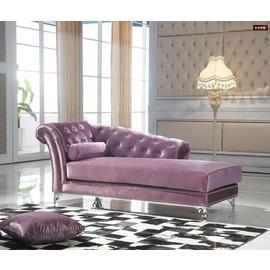 ~台北家福~^(FP348~3^)奧黛麗紫色貴妃椅傢俱