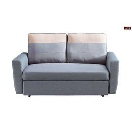 ~台北家福~^(FP351~2^)H30^#灰色布雙人沙發床傢俱