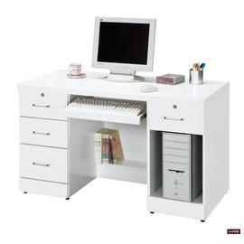 ~台北家福~^(FP631~1^)純白4尺電腦桌傢俱