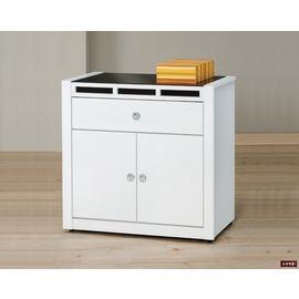~台北家福~^(FP709~4^)貝多美白色3尺碗櫥櫃^(下座^)傢俱