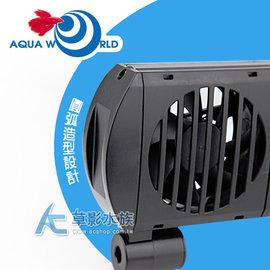 ~AC草影~Aquaworld 水世界 強勁冷卻風扇(雙扇)~一台~水族 魚缸