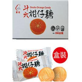 斗六柑仔糖 ^( 200公克  盒 ^)
