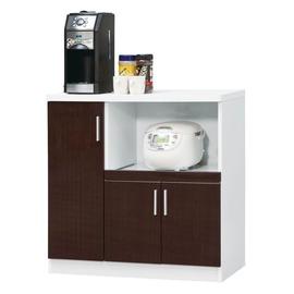~JC257~7~喜而好鏡面3尺廚房櫃^(DIY^)^(組裝費200^)^(木門內一片隔板