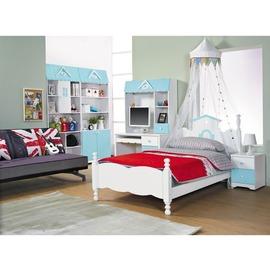 ~JC82~1~愛丁堡藍色3.5尺床檯