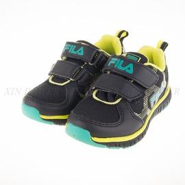 6折出清~FILA  男童 輕量慢跑鞋-黑-2-J422Q-006