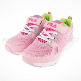 6折出清~FILA  輕量慢跑鞋(反光)-粉綠-3-J403Q-565