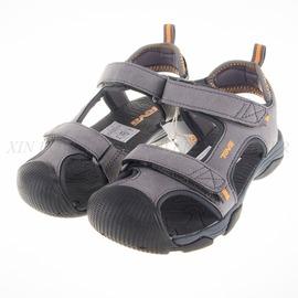 TEVA  兒童 Toachi 4 多功能 護趾 中童涼鞋-灰-110239CDGOR