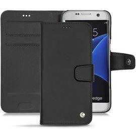 NOREVE Samsung 三星 Galaxy S7 edge  側掀式皮套 真皮 保護套 手機套  訂製 法國頂級手機皮套 50種顏色