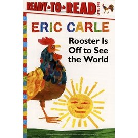 ~Eric Carle 簡易讀本~ROOSTER IS OFF TO SEE THE WO