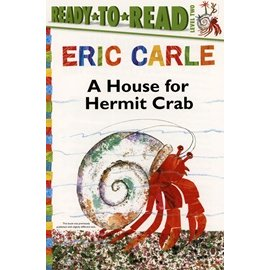 ~Eric Carle 簡易讀本~HOUSE FOR HERMIT CRAB READ T