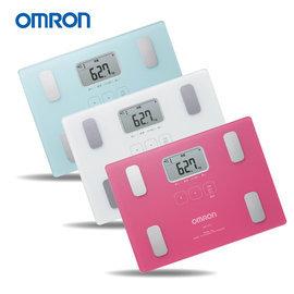 OMRON歐姆龍體脂體重計 體重體脂計HBF~216白色