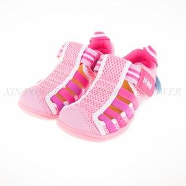 IFME  KID款水涼鞋-粉紅馬卡龍-IF22-601422