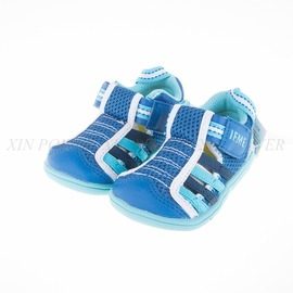 IFME  寶寶水涼鞋-藍色棒棒糖-IF22-601266