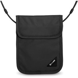 【澳洲 Pacsafe】Coversafe X75 安全貼身掛頸暗袋.RFID防盜護照包.貼身防盜側背包.隱藏式錢包.皮包.防搶錢包 PE206