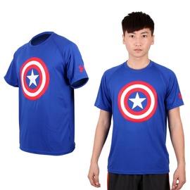 UA UNDER ARMOUR 男HG AlterEgo短袖T恤(免運 圓領 美國隊長【03311930】≡排汗專家≡