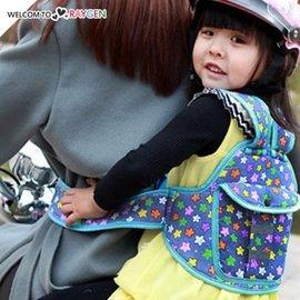 兒童多功能卡通印花摩托車安全背帶 綁帶 背包【HH婦幼館】