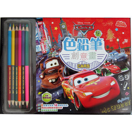 ~迪士尼 CARS~色鉛筆 畫 ^(cars^)