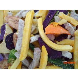 【吉嘉食品】綜合蔬菜蔬果脆片~200公克95元,素食,另有菠蘿蜜,芋頭條,地瓜條{JN10:200}
