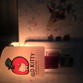 Hello Kitty LED小夜燈~小蘋果款