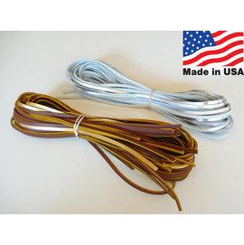 ^~阿豆物流^~  美國 美國製 銀色 銀箔手套線 高階牛皮手套線 手套換線 手套維修