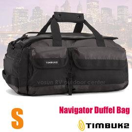 【美國 TIMBUK2】新款 Navigator Duffel 多功能裝備袋(S/50L)/手提包.後背包.休閒背包.旅行袋.行李袋/適自助旅行.健行._ 592-2-2001 黑