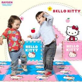 Hello Kitty 明德 kitty巧拼 遊戲 地墊 環保無毒 地墊【HH婦幼館】