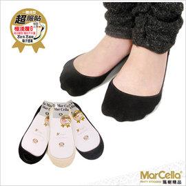 ~瑪榭~超服貼極淺襪身 後跟止滑棉質隱形襪~6入組 ~