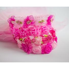 兒童頭紗花童發箍 婚紗攝影兒童花環小伴娘花童禮服配飾頭飾花環