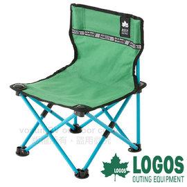 【日本 LOGOS】ROSY 野營椅/童軍椅.導演椅.折疊椅.摺疊椅.折合椅/新式收納束帶設計.開合收納迅速_綠 73170042