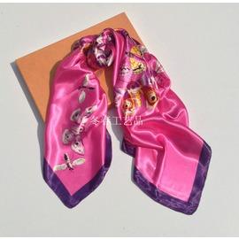 廠家 直銷蘇州絲綢大方巾女真絲絲巾秋 圍巾出國 silk