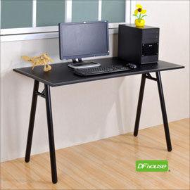 ~DFhouse~馬鞍皮面A字工作桌 寬120cm  辦公椅 電腦椅 書桌 茶几 鞋架 傢