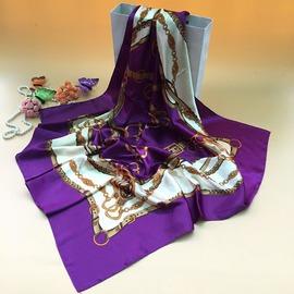 杭州高檔冬職業絲巾 圍巾女士春秋 真絲大方巾桑蠶絲絲巾
