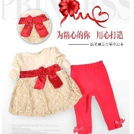 免 ~買窩^~兒童彌月 外出服 連身衣 包屁衣系列~~俏皮生日週歲宴會服~幼童套裝2件套組
