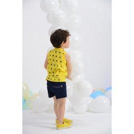 baby king  6160 4分小棉褲^(藍色^) 80CM^~130CM 製
