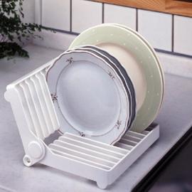 ~DI392~盤子瀝水架 摺疊瀝水架 廚房碗架 碗碟架 收納架 餐具置物架