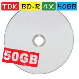 TDK PRINTABLE BD~RE 2X 50GB 空白光碟片 單片入