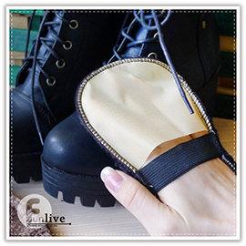 【Q禮品】A2904 絨毛擦鞋手套/便攜仿羊毛 擦鞋布/軟毛鞋刷/手套上光鞋刷子/皮鞋擦/鞋油擦/擦鞋布