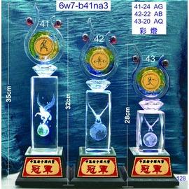 6w7~b41na3_單座價_彩燈_獎牌獎盃獎座 製作 水晶琉璃工坊 商家