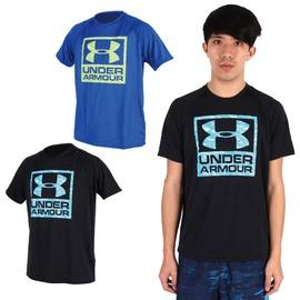 UA UNDER ARMOUR HG Boxed Logo男短袖T恤( 健身【03312252】≡排汗專家≡