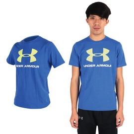 UA UNDER ARMOUR HG大LOGO男短袖T恤(路跑 健身 休閒【03311881】≡排汗專家≡