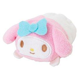 Pun Lapin 正品Sanrio三麗鷗 美樂蒂Melody 手掌公仔 沙包疊疊娃娃 ^