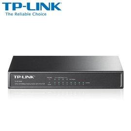 TP~LINK TL~SF1008P 8 埠 10 100M 桌上型 PoE 器